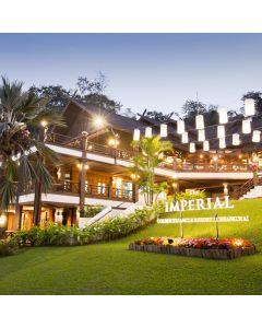 ห้องพักรวมอาหารเช้า 1 คืน โรงแรม ดิ อิมพีเรียล โกลเด้น ไทรแองเกิ้ล รีสอร์ท เชียงราย