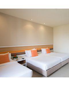ห้องพักรวมอาหารเช้า 1 คืน โรงแรม อิมม์ โฮเทล ท่าแพ เชียงใหม่
