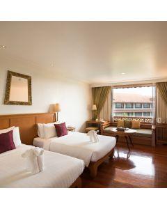 ห้องพักรวมอาหารเช้า 1 คืนโรงแรม ดิ อิมพีเรียล ริเวอร์เฮ้าส์ รีสอร์ท เชียงราย