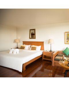 ห้องพัก Deluxe River View รวมอาหารเช้า 1 คืนโรงแรม ดิ อิมพีเรียล ริเวอร์เฮ้าส์ รีสอร์ท เชียงราย