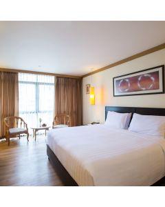 ห้องพักรวมอาหารเช้า 1 คืน โรงแรม เดอะทานตะวัน สุรวงศ์ โฮเทล กรุงเทพ